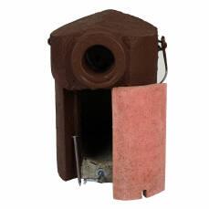 Starenkasten aus Holzbeton mit Katzenschutz 45 mm
