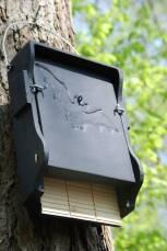 Fledermausflachkasten 1FF aus Holzbeton