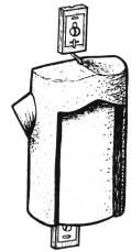 Baumläuferhöhle 2B aus Holzbeton von Schwegler