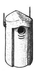 Starenhöhle, Starenkasten 3S Ø 45 mm