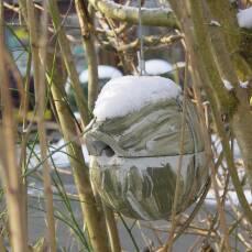 Zaunkönig-Kugel 1ZA - grün