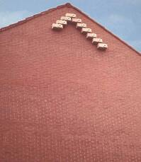 Mauerseglerkasten aus Pflanzenfaserbeton von Schwegler