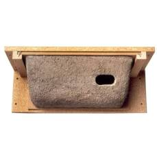 Mauerseglernest zur Anbringung unter dem Dachfirst