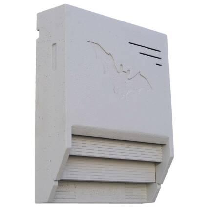 Fledermaus-Gebäudeflachkasten 1FTH (lichtgrau)