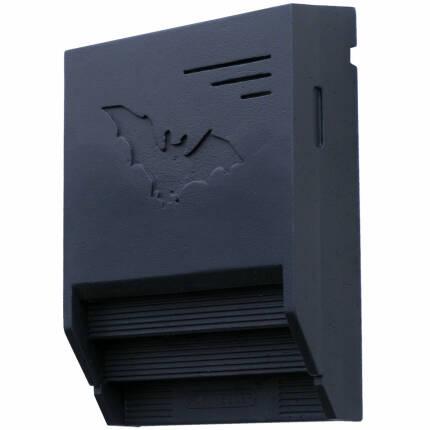 Fledermaus-Gebäudeflachkasten 1FTH (schwarz)