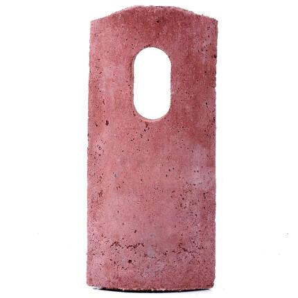 Vorderwand für Nisthöhlen Schwegler 1B/2M Ø oval
