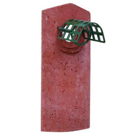 Vorderwand Nisthöhlen 1B/2M Ø 32 mm (Marderschutz)