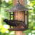 Vogelfutterhaus für Wandaufhängung