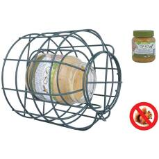 Schutzsilo für Erdnußbutter