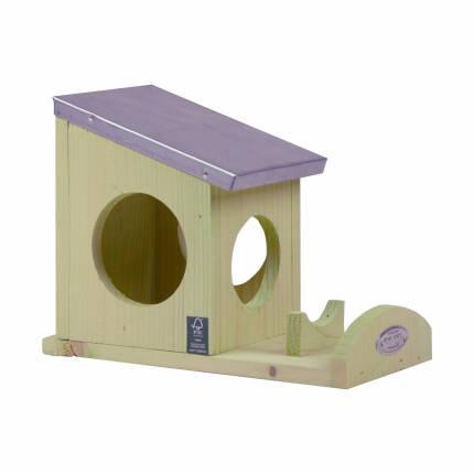 Eichhörnchen Erdnussbutterhaus
