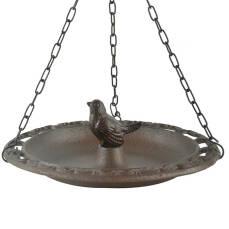 Vogeltränke Vogel hängend