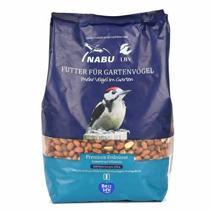 NABU / LBV Premium Erdnüsse 2 kg