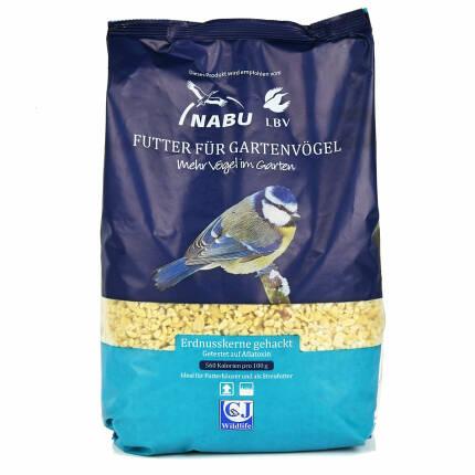 NABU / LBV Erdnüsse gehackt 2 kg
