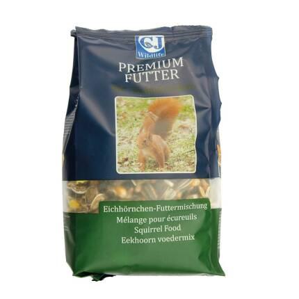 Premium Futter für Eichhörnchen 600g