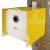 Nistkasten Cube Blech gelb