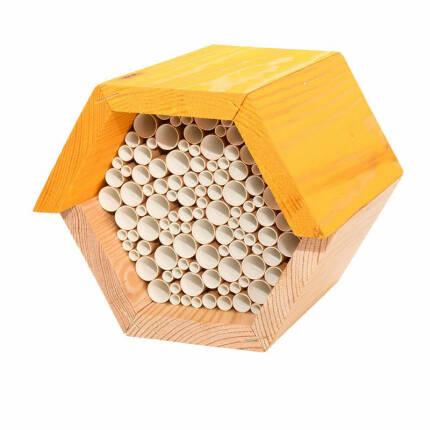 Bienenhaus Wabenform für Wildbienen und Schlupfwespen