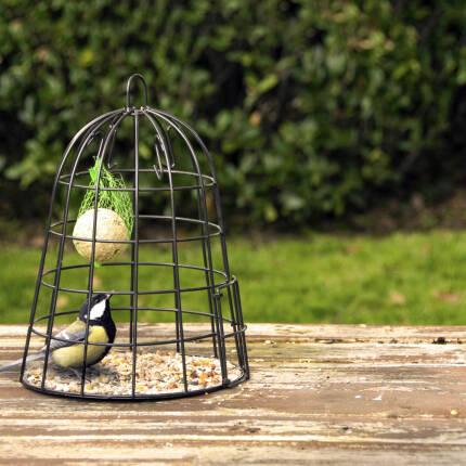 Vogelfutterschutzkäfig