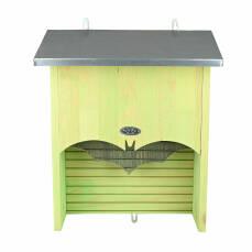 Fledermauskasten L mit Zinkblechdach und Doppelkammer
