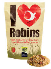 "Rotkehlchenfutter ""I love Robins"""