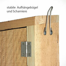 Nisthöhle für Buntspecht, Grünspecht & Schwarzspecht