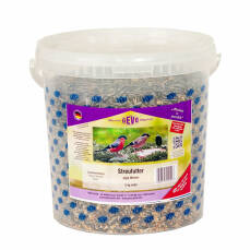 Streufutter ohne Weizen 5 kg Eimer