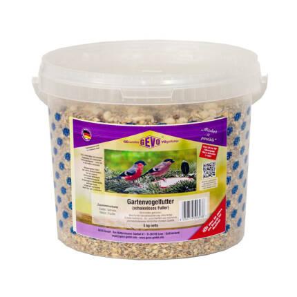 Gartenvogelfutter schalenlos 5 kg Eimer