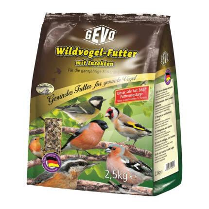 Wildvogelfutter mit Insekten 2500 g
