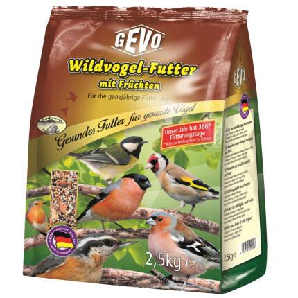 Wildvogelfutter mit Früchten 2500 g