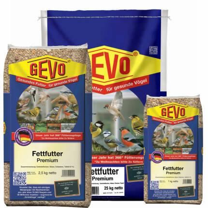 Fettfutter Premium für Wildvögel