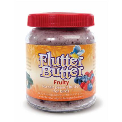 """Flutter-Butter """"Fruity"""" - Erdnussbutter für Vögel"""