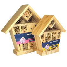 Insektenhotel mit Dach - verschiedene Größen