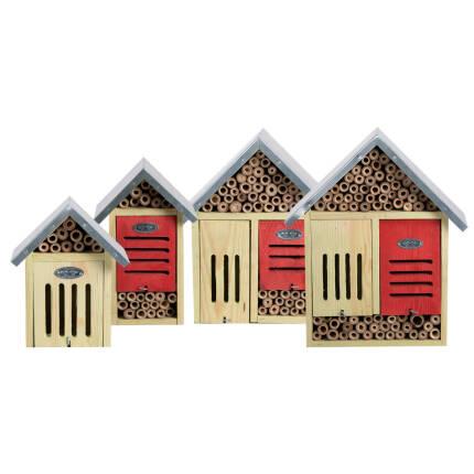 Insektenhotels mit Zinkblechdach - verschiedene Größen