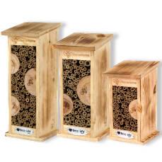 Wildbienenhotel in verschiedenen Größen
